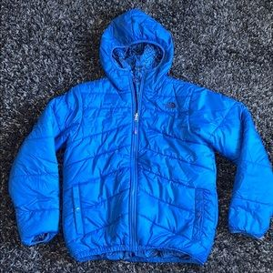 The North Face boys blue winter coat XL 18/20